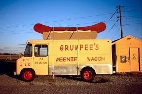 Five food vans and a wedding